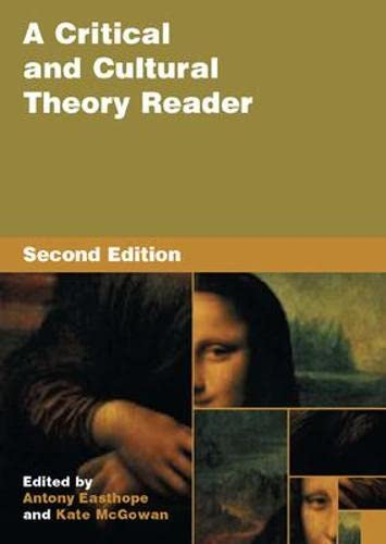 9780335213559: A Critical and Cultural Theory Reader