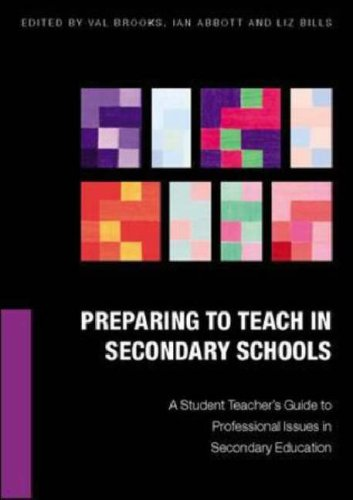 9780335213986: Preparing to Teach in Secondary Schools: A Student Teacher's Guide to Professional Issues in Secondary Education