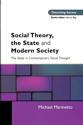 9780335214259: Social Theory, The State and Modern Society (Theorizing Society)