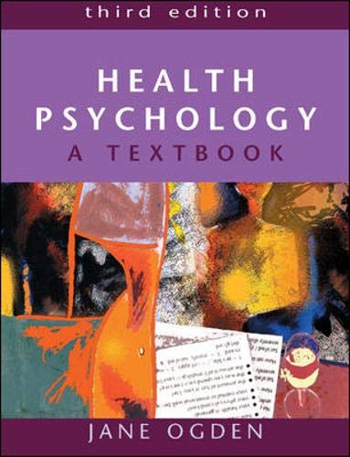 9780335214877: Health Psychology: A Textbook