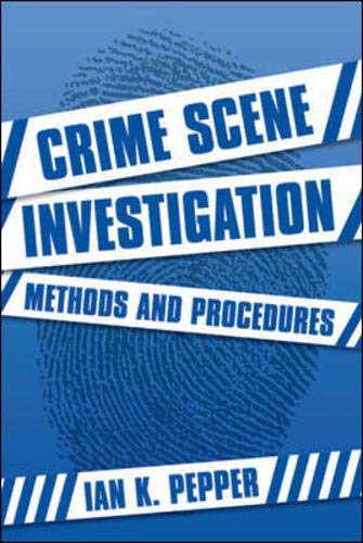 9780335214907: Crime Scene Investigation: Methods and Procedures
