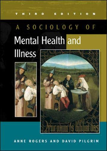 9780335215843: A Sociology of Mental Health and Illness
