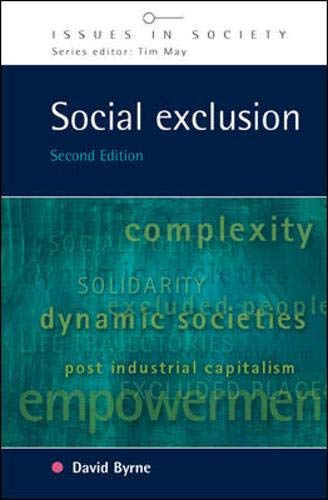 9780335215959: Social Exclusion (Issues in Society)
