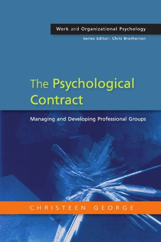 9780335216123: The Psychological Contract: Managing and developing professional groups (Work and Organizational Psychology)