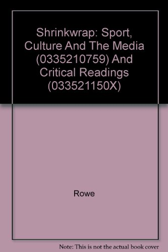 Shrinkwrap: Sport, Culture and the Media (0335210759) and Critical Readings (033521150x) (Paperback...