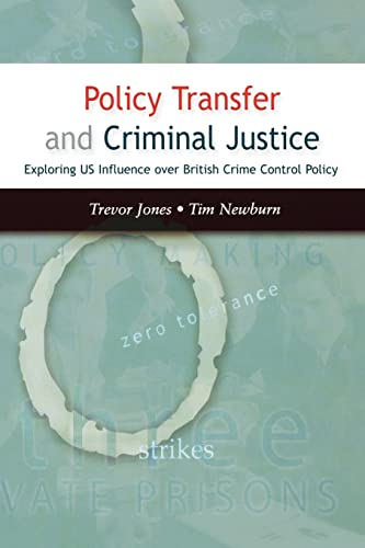 9780335216680: Policy Transfer and Criminal Justice