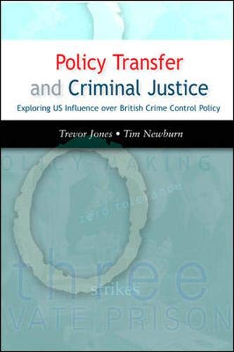 9780335216697: Policy Transfer and Criminal Justice
