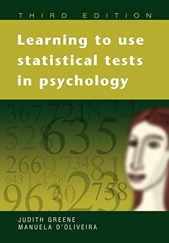 9780335216802: Learning to Use Statistical Tests in Psychology (UK Higher Education OUP Humanities & Social Sciences Sociology)