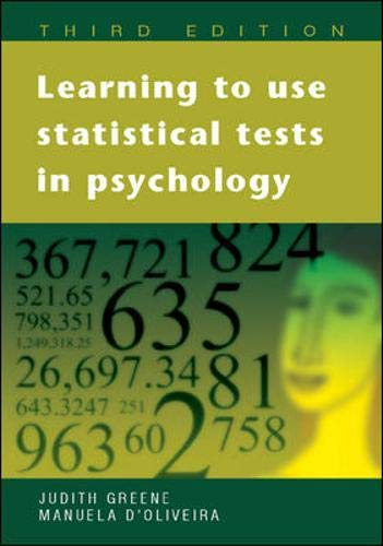 9780335216819: Learning to Use Statistical Skills in Psychology