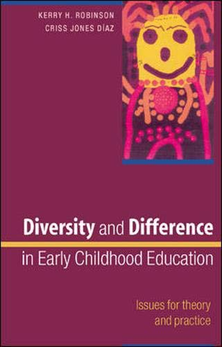 9780335216833: Diversity and Difference in Early Childhood Education