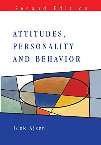 9780335217038: Attitudes, Personality and Behavior (2nd Edition)