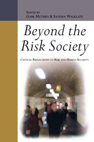 9780335217380: Beyond the Risk Society