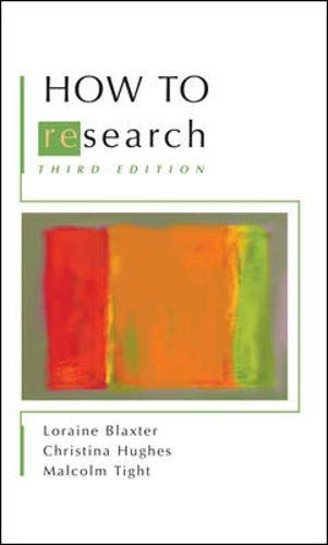 9780335217472: How to Research