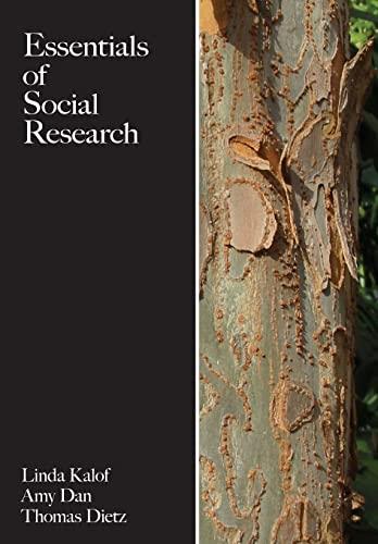 Essentials of Social Research (Paperback): Linda Kalof, Amy