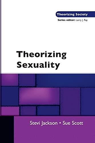 9780335218240: Theorising Sexuality