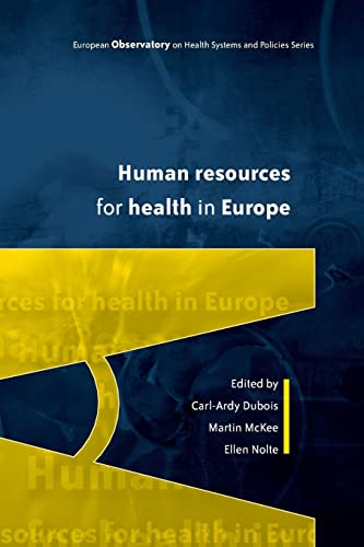 9780335218554: Human Resources for Health in Europe (European Observatory on Health Systems and Policies)