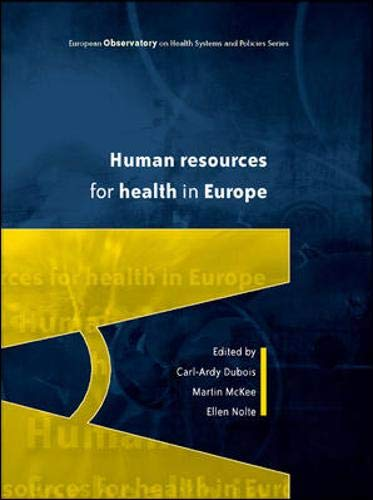 9780335218561: Human Resources for Health in Europe (European Observatiory O N Health Systems and Policies)