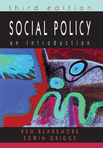 9780335218745: Social Policy: An Introduction