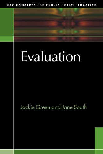 9780335219155: Evaluation (Key Concepts for Public Health Practice)