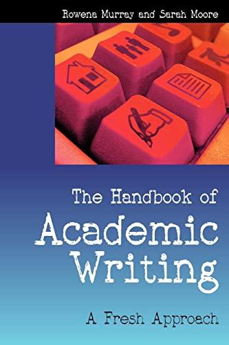 9780335219339: The Handbook of Academic Writing