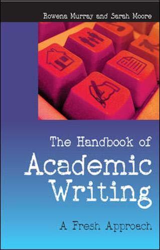 9780335219346: The Handbook of Academic Writing