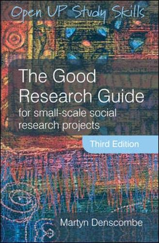 9780335220229 the good research guide abebooks martyn denscombe rh abebooks co uk good research guide 2010 good research guide pdf open university