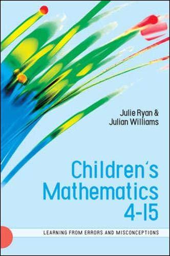 9780335220434: Children's Mathematics 4-15