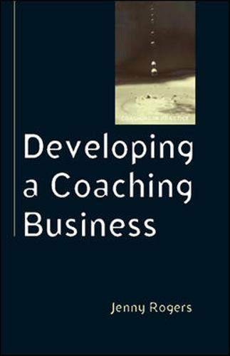 9780335220502: Developing a Coaching Business (Coaching in Practice)
