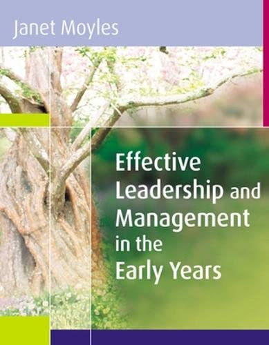 9780335221011: Effective Leadership and Management in the Early Years