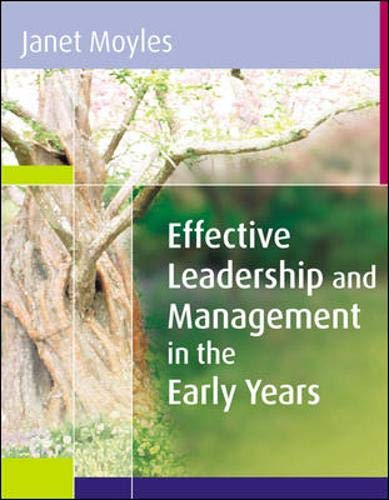 9780335221028: Effective Leadership and Management in the Early Years
