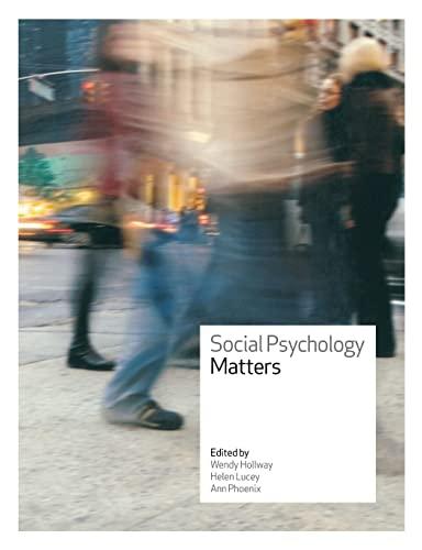 9780335221035: Social Psychology Matters