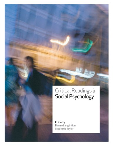 9780335221042: Critical Readings in Social Psychology