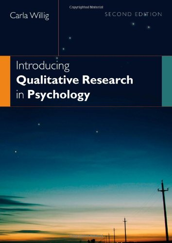 9780335221158: Introducing Qualitative Research in Psychology