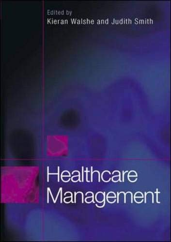 9780335221196: Healthcare Management