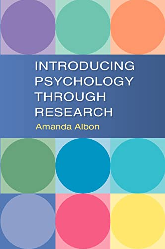 9780335221349: Introducing Psychology Through Research