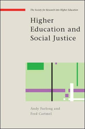 9780335223619: Higher Education and Social Justice (Copublished With the Society F)