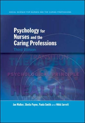 9780335223855: Psychology for Nurses and the Caring Professions (Social Science for Nurses and the Caring Professions)