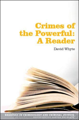 9780335223893: Readings in Crimes of the Powerful