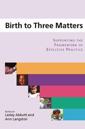 9780335223978: Birth to Three Matters