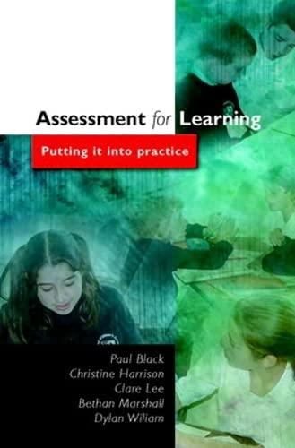 9780335224296: Assessment for Learning