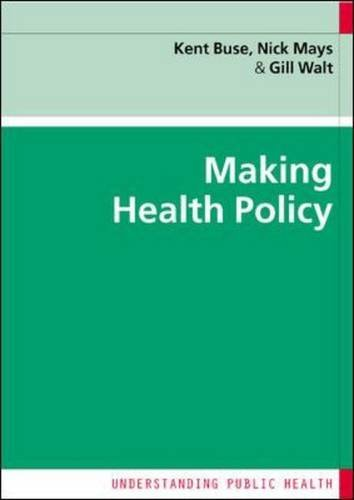 9780335224456: Making Health Policy