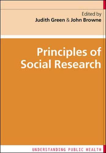 9780335225583: Principles of Social Research