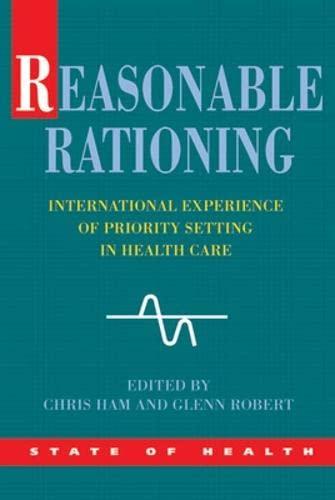 9780335225675: Reasonable Rationing