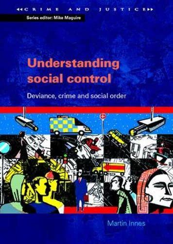 9780335225880: Understanding Social Control