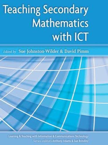 9780335225965: Teaching Secondary Mathematics with ICT