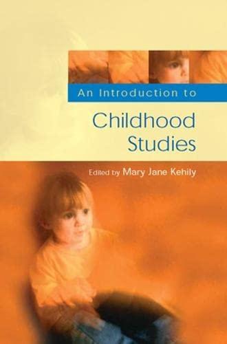 9780335226023: Childhood Studies