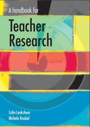 9780335226108: A Handbook for Teacher Research