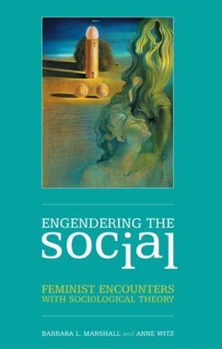 9780335226344: Engendering the Social