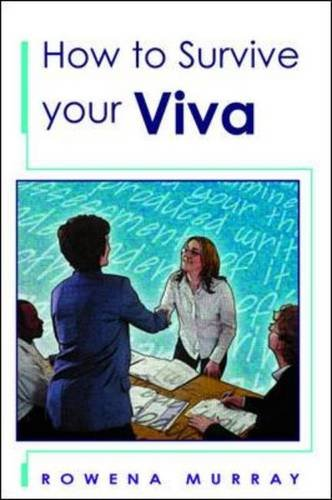 9780335226610: How to Survive Your Viva
