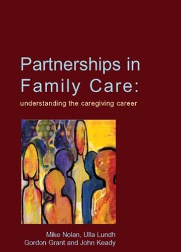 9780335226689: Partnerships In Family Care
